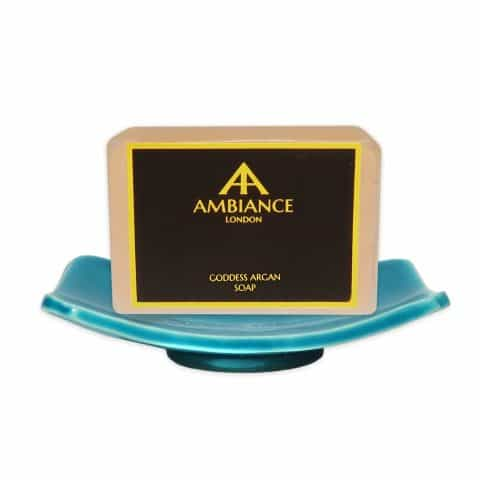 ancienne ambiance turquoise Ceramic Soap Dish