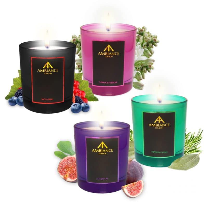 Ambiance Ltd Edtion Luxury Scented Candles 2018