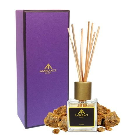 Ambra Amber Reed Diffuser Giftboxed