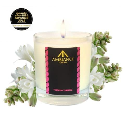 ancienne ambiance tuberosa tuberose luxury scented candle - beauty short list awards