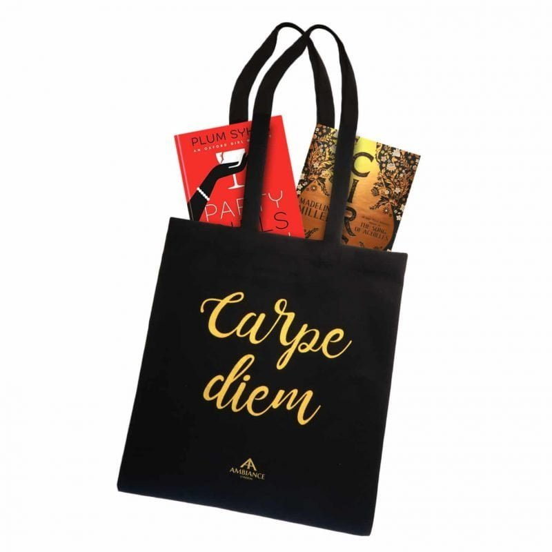 Carpe Diem Tote Bag - Alphabet Bags for Ancienne Ambiance London