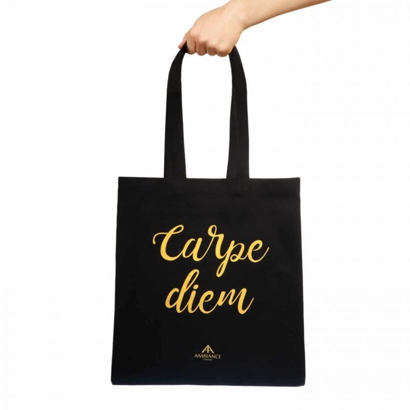 Carpe Diem Tote Bag - Ancienne Ambiance