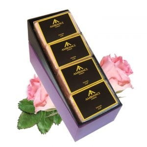 Damask Rose Luxury Soap Set