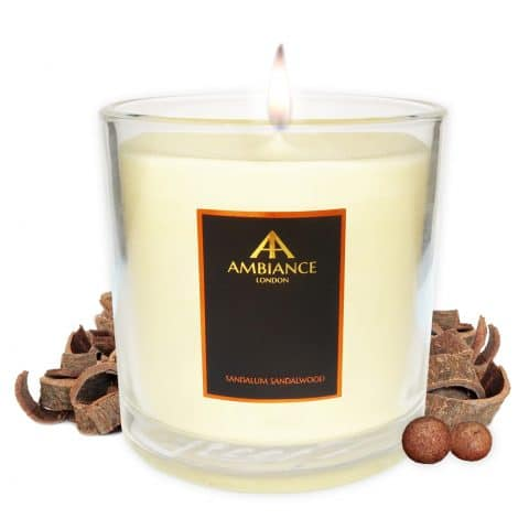 Deluxe Sandalum Sandawood Luxury Scented Candle 2018