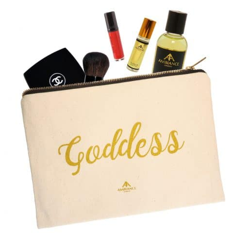 Goddess Canvas Pouch