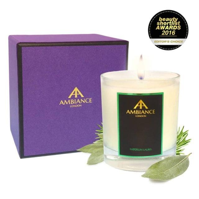 Giftboxed Imperium Laurel Candle special edition