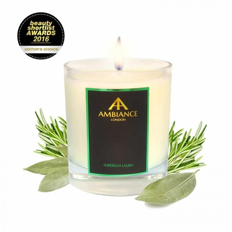 Beauty Shortlist Awards - Best Candle Winner - Imperium Candle