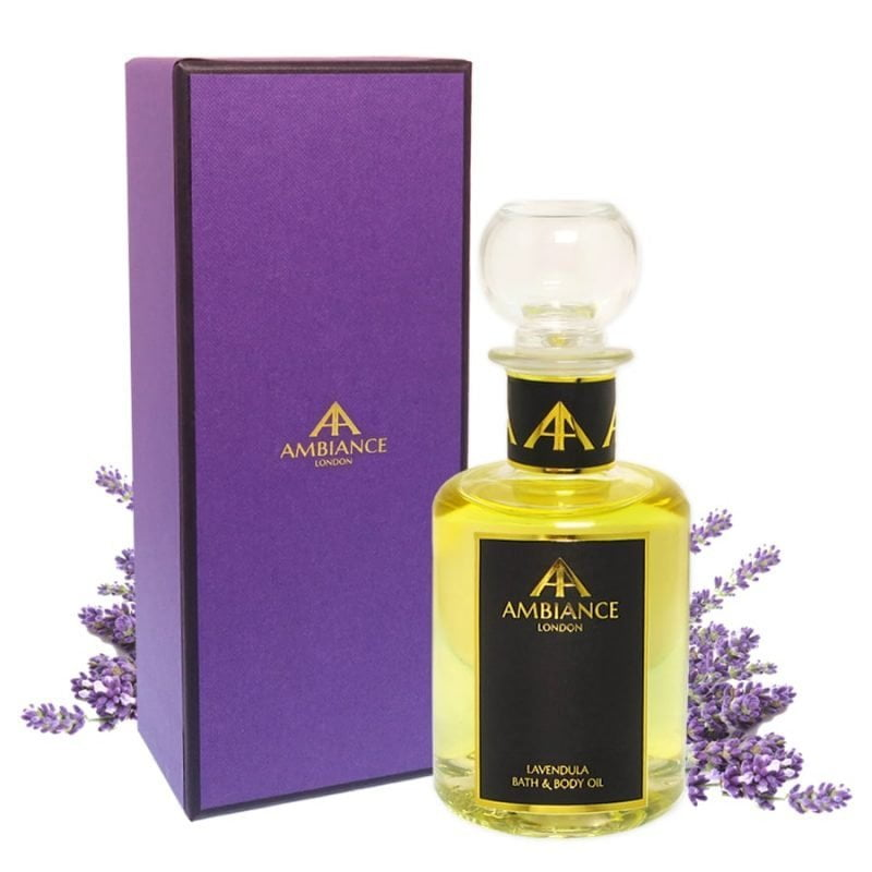 Lavendula Oil Glass Bottle Giftboxed