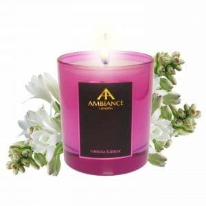 Pink Tuberosa Tuberose Candle Ltd Edition