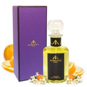 Signature Oil Glass Bottle Giftboxed