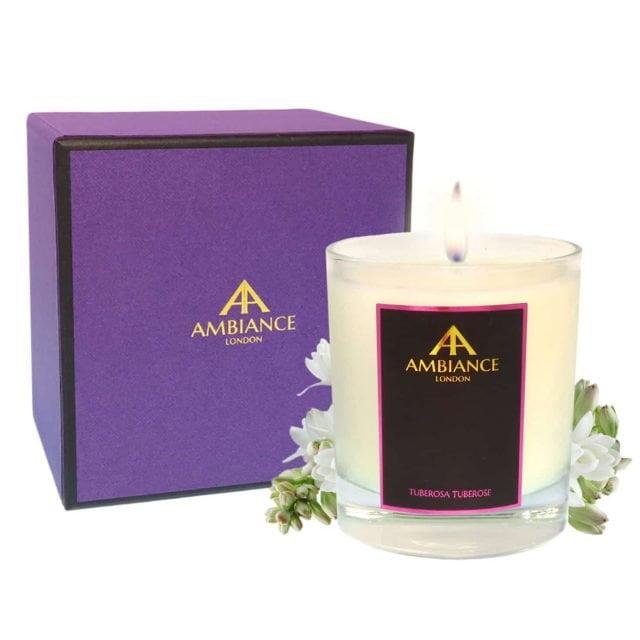 Tuberosa Tuberose Candle Special Edition Giftboxed