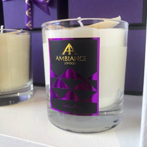 ancienne ambiance alteeneh luxury scented candle - fig scented candle shelfie