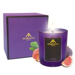 Luxury Scented Christmas Candle - Alteeneh Fig Candle Limited Edition Giftboxed