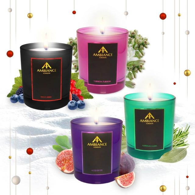 Ltd Edition Candles Holiday Gift Set 2018