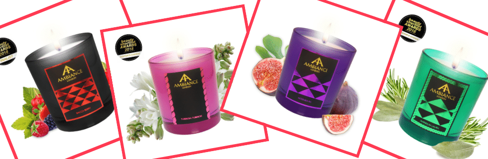 ancienne ambiance christmas candles - luxury scented candles - handpoured luxury candles