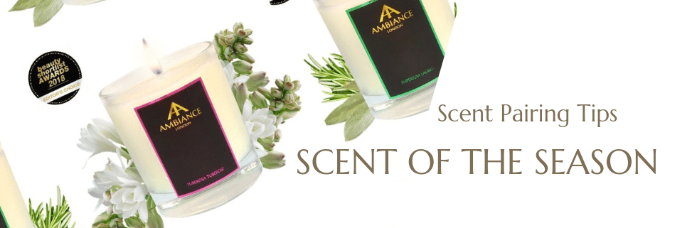 ancienne ambiance summer candles - scented candles - scent pairing
