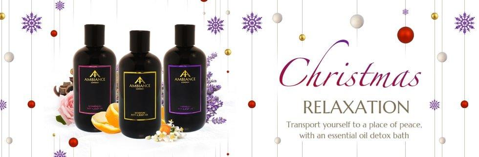 Pre Christmas Calm - Aromatherapy Detox Bath Oils - Ancienne Ambiance Aromatherapy