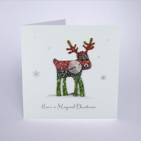 Rudolph Magical Christmas Card - Five Dollar Shake