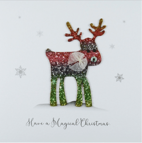 Rudolph Magical Christmas Card - Five Dollar Shake
