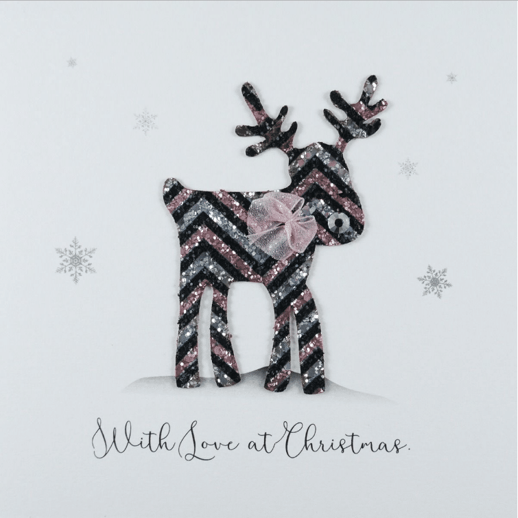 Rudolph With Love At Christmas Card - Five Dollar Shake