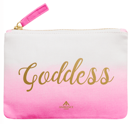 Pink Goddess Makeup Bag