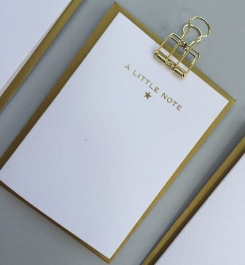 A Little Note - notecards set