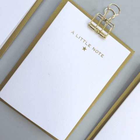 ancienne ambiance - stationery - A Little Note - notecards set