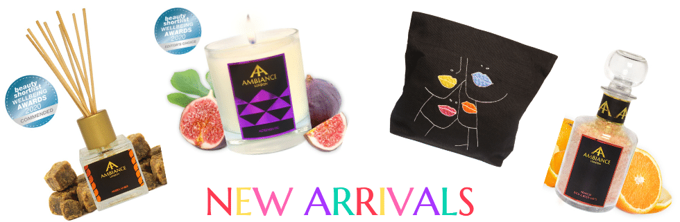 ancienne ambiance new collections - luxury gifts - scented candles - bath oils - home fragrance