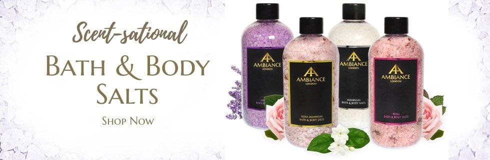luxury bath salts - luxury epsom salt - detox bath salts at ancienne ambiance