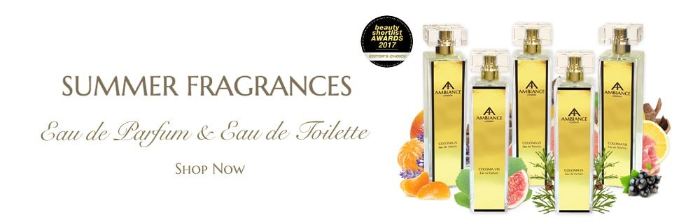 ancienne ambiance summer scents - summer fragrances - niche perfumes