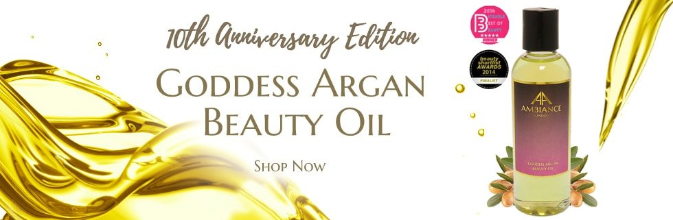 ancienne ambiance goddess argan beauty oil - luxury argan oil - best beauty oil face oil - limited edition