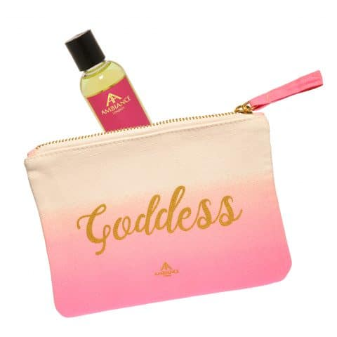 Pink Goddess Oil and Makeup Bag - Limited Edition