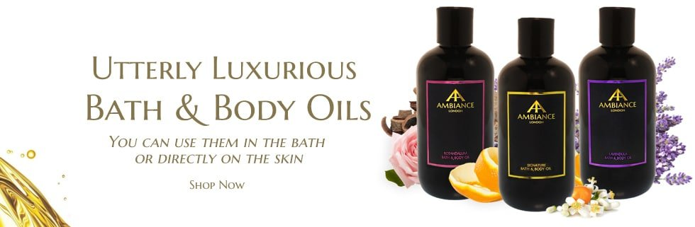 ancienne ambiance bath and body oils - luxury bath oils - luxury body oils