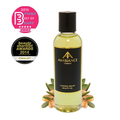 award winning goddess argan beauty oil