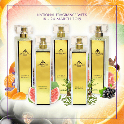 Ancienne Ambiance Fragrances - niche perfumery - National Fragrance Week