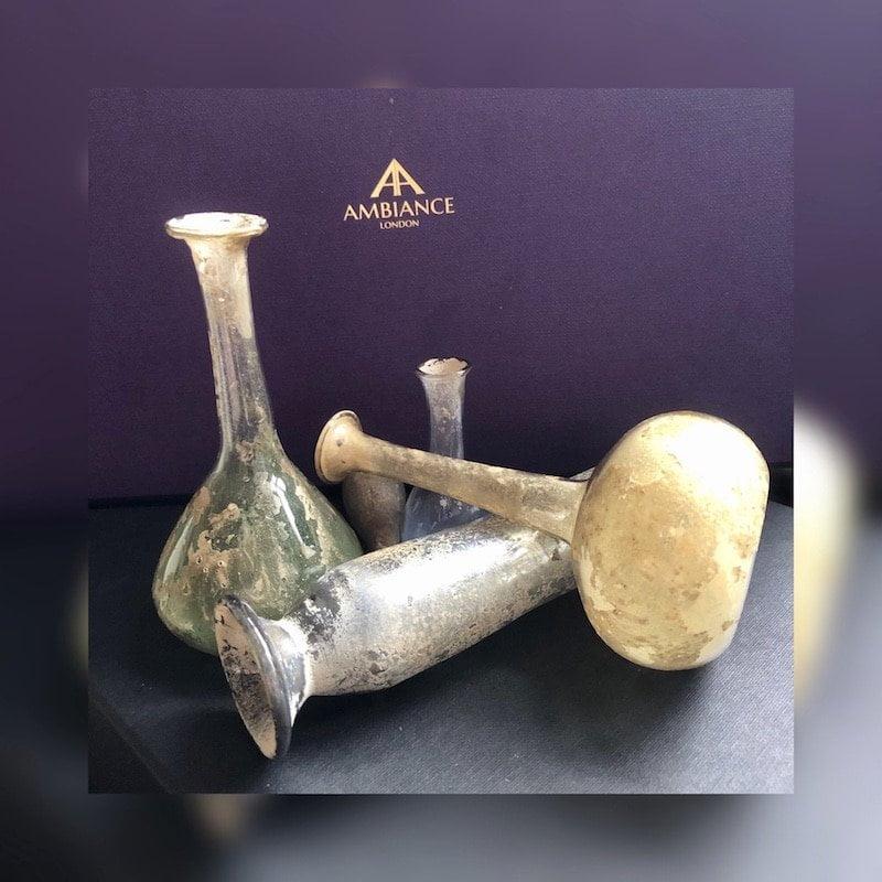 Roman Glass Perfume Bottles