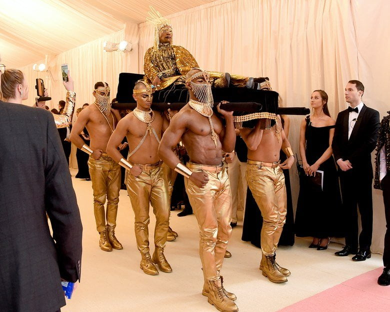 Billy Porter Met Gala Red Carpet 2019 | Ancient Egypt Trend