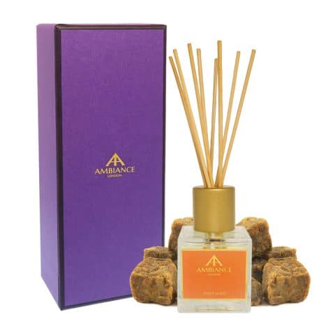 Giftboxed Ancienne Ambiance Orange Ambra Amber Reed Diffuser