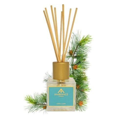 Limited Edition Green Cedrus Cedar Scented Reed Diffuser