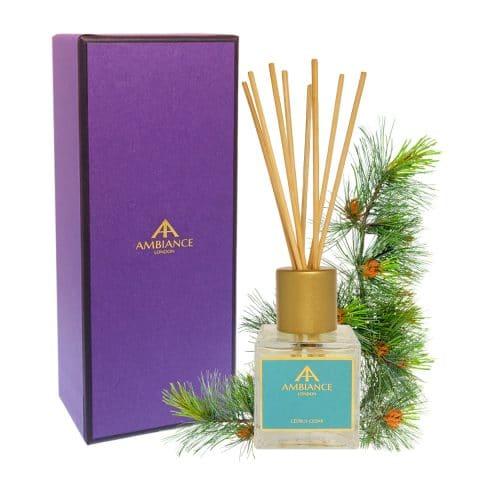 Giftboxed Cedrus Cedar Reed Diffuser