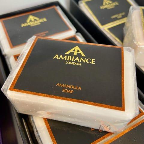 ancienne ambiance london - luxury soap bar - amandula almond soap - moisturising soap