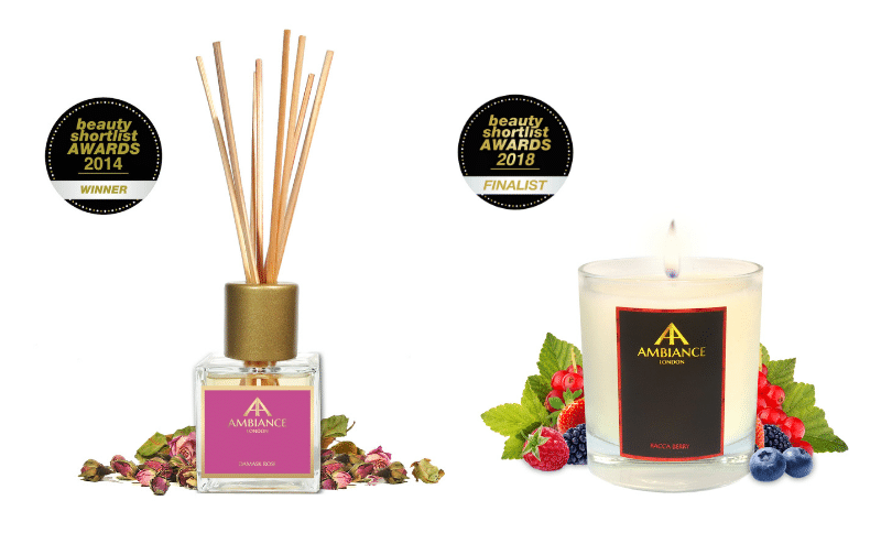 Scent Memory - Make Memories - Ancienne ambiance home fragrance - bacca candle - damask diffuser