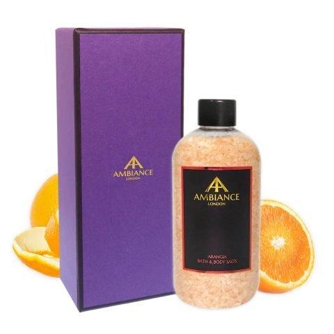 Luxury Orange Scented Bath Salts - Ancienne Ambiance
