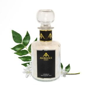 luxury jasmine bath salts - ancienne ambiance detox salts, foot soak salts