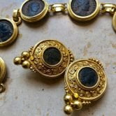 ancienne ambiance heritage jewellery - 21k gold etruscan revival jewellery -