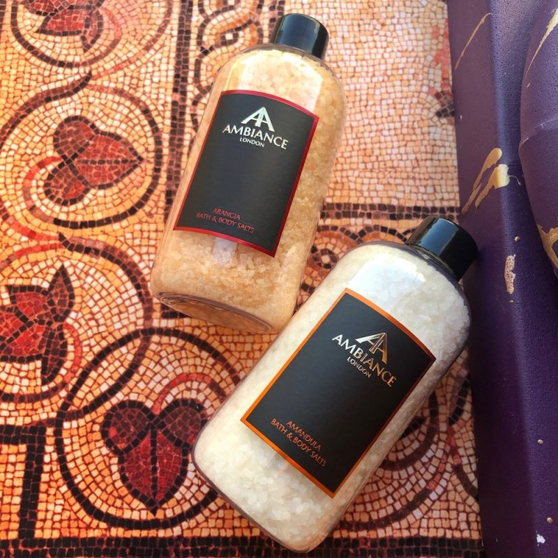 ancienne ambiance luxury bath salts - orange bath salts - almond bath salts