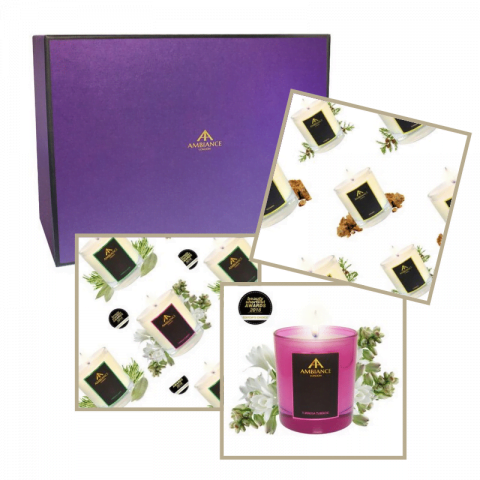ancienne ambiance candles gift set - bespoke candles gift set - personalised candles set.