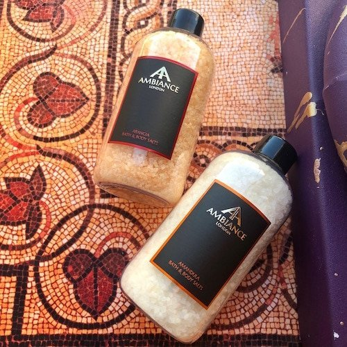 ancienne ambiance luxury bath satls - foot soaks - luxury epsom salts