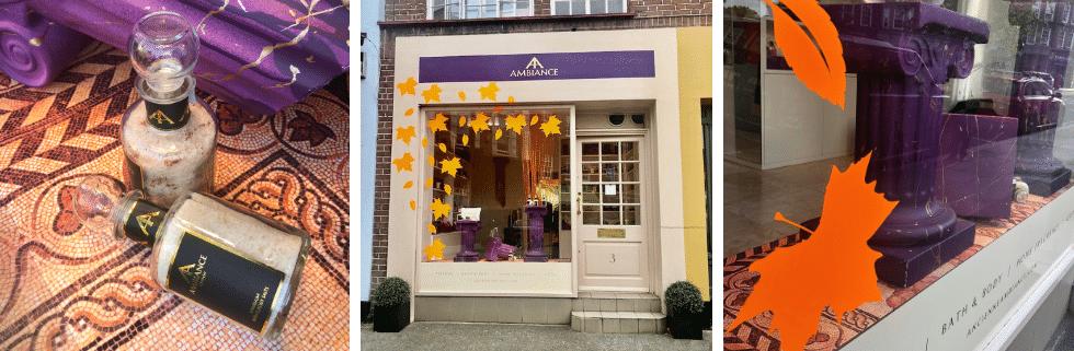 Autumn shop front Ancienne Ambiance Chelsea London