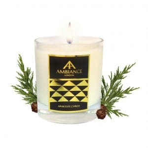 ancienne ambiance - Aphrodite Luxury Candle - Cypress Scented Candle